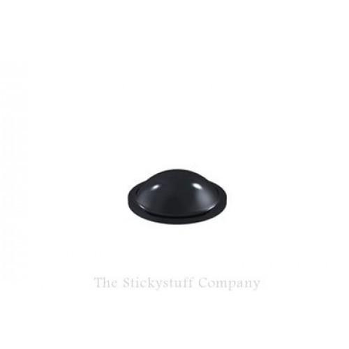 Black Self Adhesive Polyurethane Bumper Feet Stops Bumpons 10mm x 3.2mm High Domed (Sheet of 288)