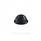 Black Self Adhesive Polyurethane Bumper Feet Stops Bumpons 19mm x 9.5mm High Domed (Pack of 98)