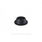 Black Polyurethane Bumper Stops Feet Self Adhesive 8mm x 3mm Cylindrical (Pack of 500)
