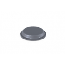 Grey Self Adhesive Polyurethane Bumper Stops Feet Bumpons 10.1mm x 1.8mm Cylindrical (Pack of 100)