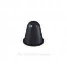 Black Self Adhesive Polyurethane Bumper Stops Feet Bumpons 16.6mm x 16.6mm Hemispherical (Pack of 100)