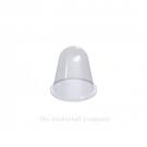 Clear Self Adhesive Polyurethane Bumper Stops Feet Bumpons 16.6mm x 16.6mm Hemispherical (Pack of 4)