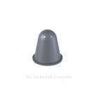 Grey Self Adhesive Polyurethane Bumper Stops Feet Bumpons 16.6mm x 16.6mm Hemispherical (Pack of 4)